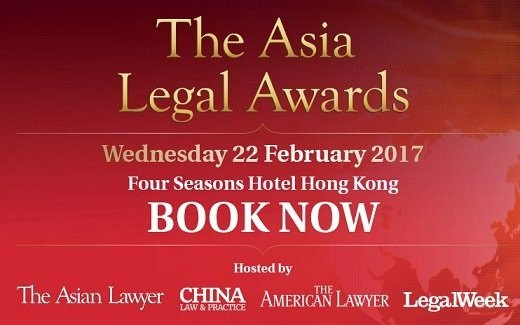 Asia Legal Awards 2017: Finalists announced