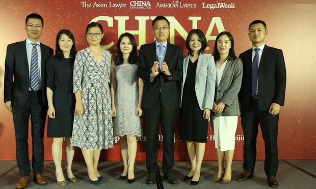 Winners Announced for China Law & Practice Awards 2019