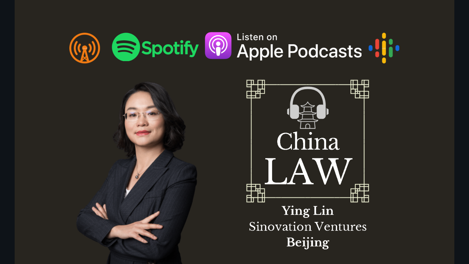 Podcast #28: Representing a Leading Chinese Venture Capital Firm - Ying Lin, Sinovation Ventures